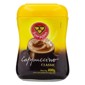 3 Coracoes Classic Cappuccino 400 GR