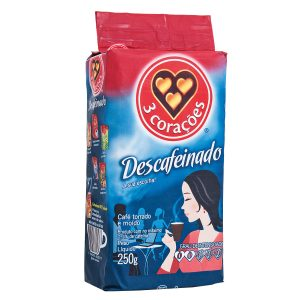 3 Coracoes Decaf Coffee 250 GR