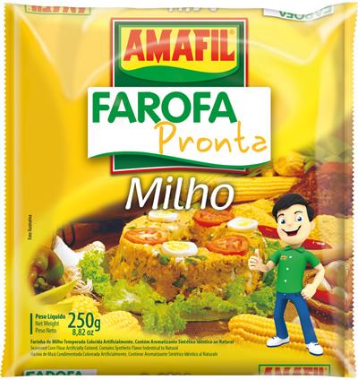 Amafil Yellow Corn Flour 250 GR